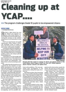 Cleaning up at YCAP - Maritzberg Fever