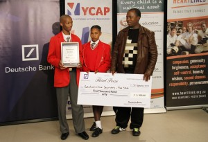 YCAP - Youth Citizens Action Programme - 2013
